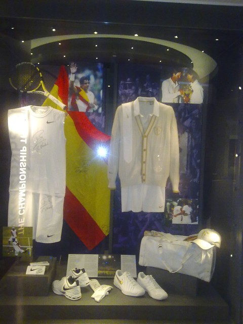 Rafa and Fed outfits