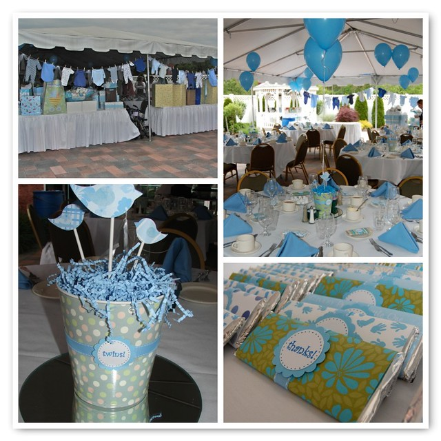 3632639482 1a2275c02b for Baby shower decoration twins