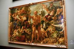 2009-06-11 06-14 Dresden 148 Gemäldegalerie Alte Meister, Jacob Jordaens - Diogenes mit der Laterne