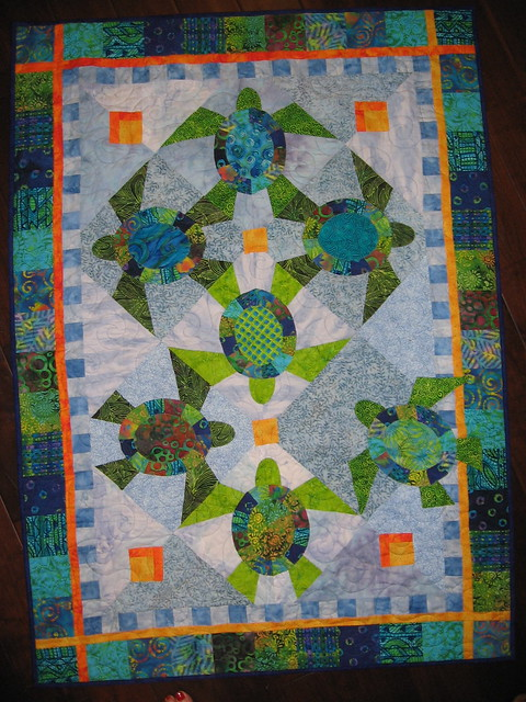 Quilt Patterns With Turtles : Turtle Quilt Flickr - Photo Sharing!