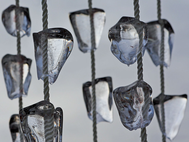 ice on ropes