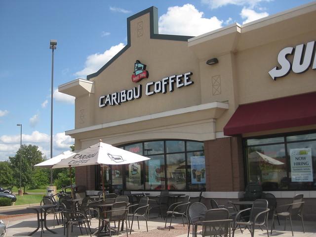 caribou coffee blaine mn