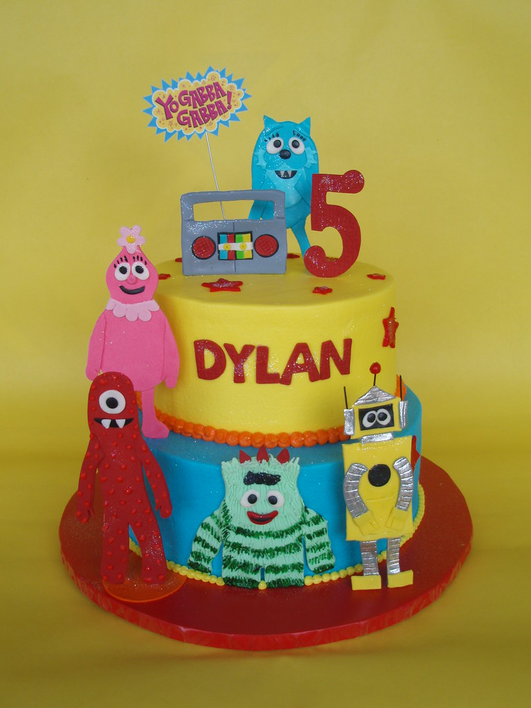 Yo Gabba Gabba Birthday Cake Images