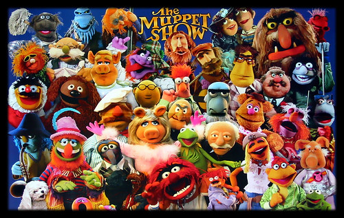 I love the Muppets !! Have a nice weekend!!