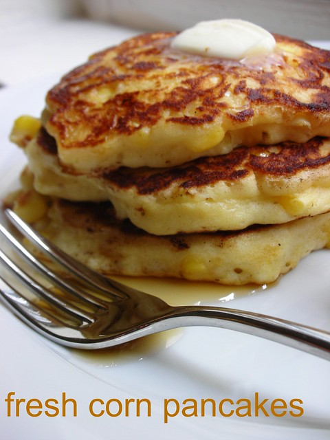 fresh corn pancakes | Flickr - Photo Sharing!