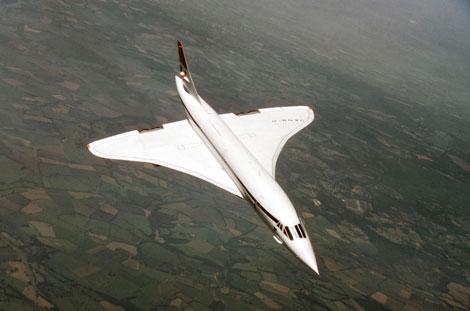 1970s - Concorde-G-BOAA