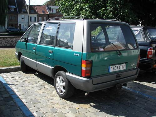 Renault espace vert et gris a photo on flickriver for Espace vert