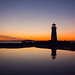 Peggy's Cove sunset by DGMiller777