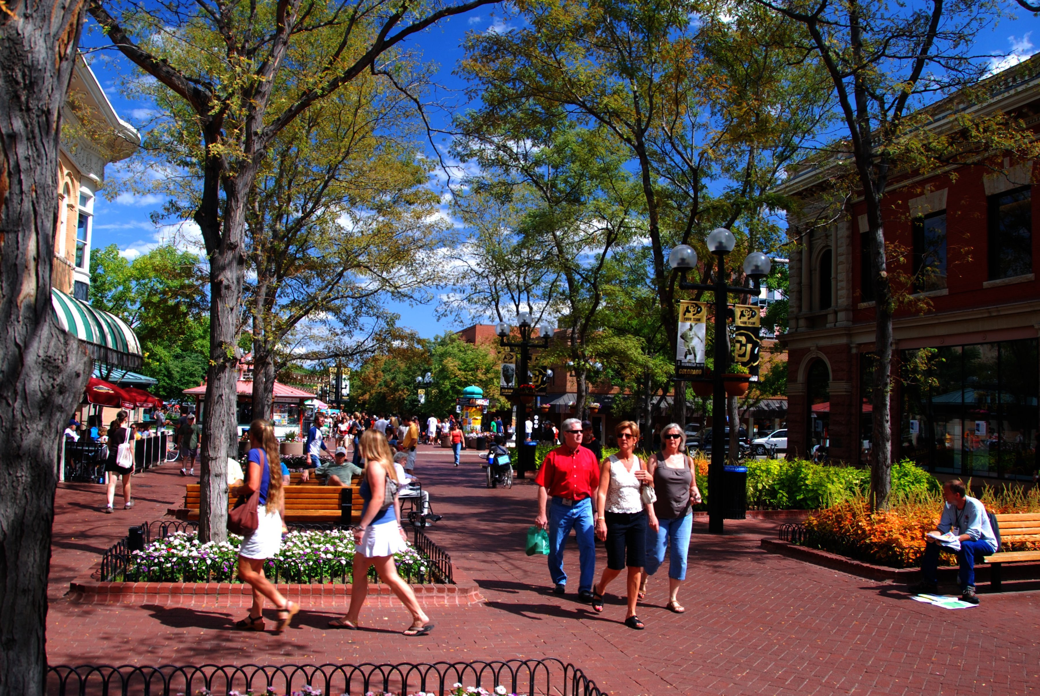 Boulder Colorado Pearl Street Restaurants