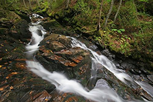 waterfall vermont falls waterfalls cascades