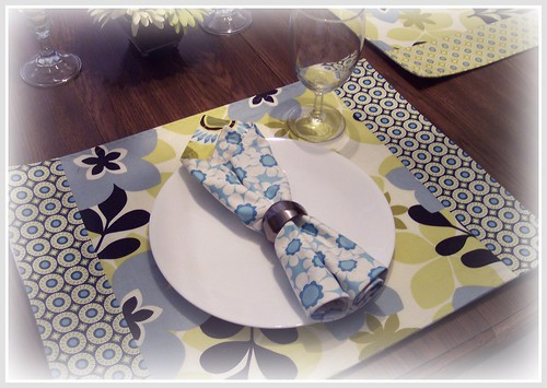 Reversible Fabric Napkin