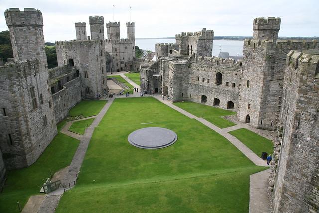 Bezienswaardigheden Wales Top 10 – Caernarfon kasteel