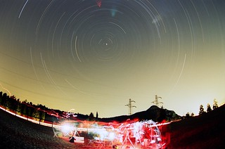Star Trails in Castelletta | by Skiwalker79
