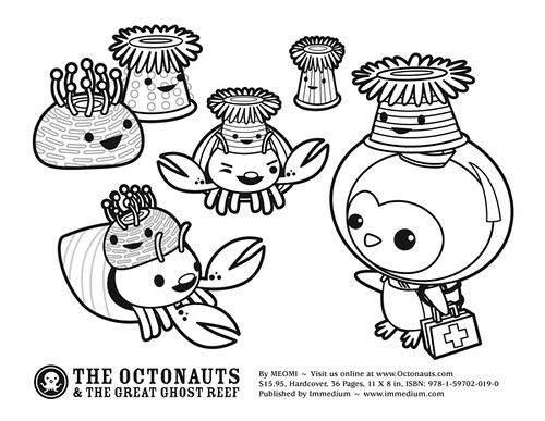 octonauts coloring pages all characters - photo#35