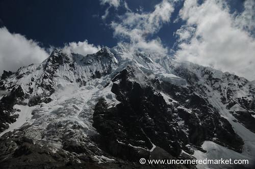 mountain peru trek landscape glacier dpn salkantay salkantaytrek salcantay
