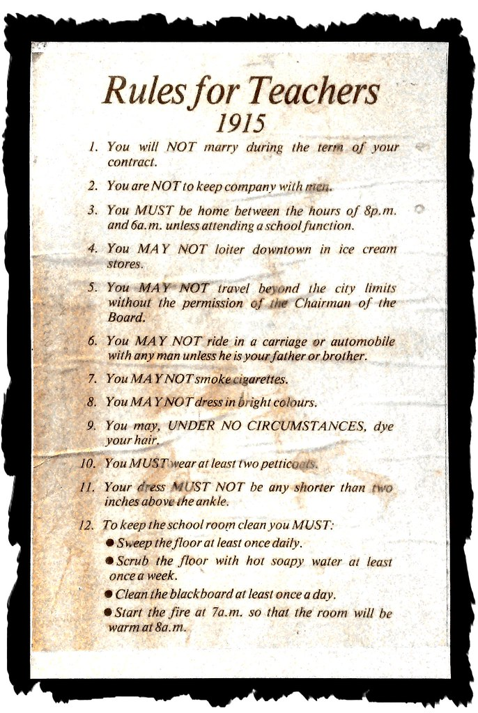Rules For A Girls Bedroom: From The Old Schoolroom At