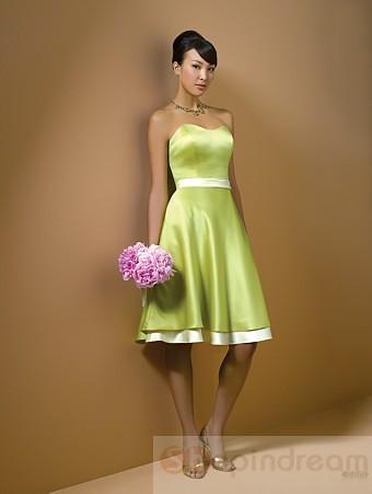 My wedding place light green bridesmaid dress for Light green wedding dress