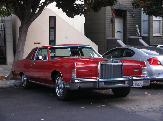 1979 lincoln continental town car coupe flickr photo sharing. Black Bedroom Furniture Sets. Home Design Ideas