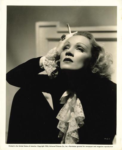Marlene Dietrich Publicity Still 1943