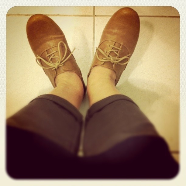 I love my new shoes. :)