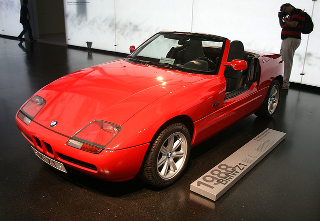 bmw z1 von 1988 bmw museum flickr photo sharing. Black Bedroom Furniture Sets. Home Design Ideas