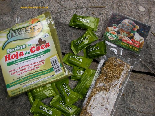coca leaf products in Peru. by Howard G Charing