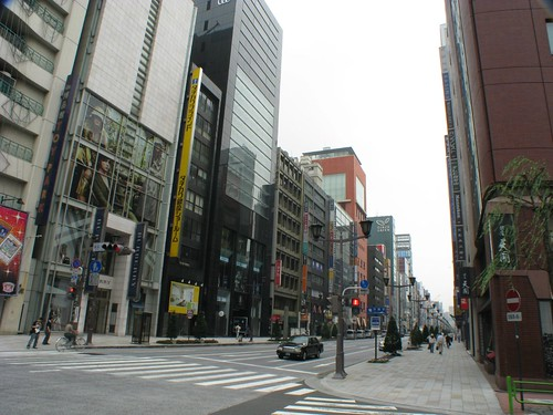 Main Street, Tokio [Princepal Street] (1880s and 2009)