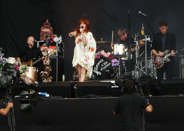 bands like florence and the machine