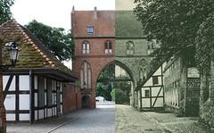 Neubrandenburg - Damals und heute