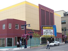 Admiral Theatre repainted