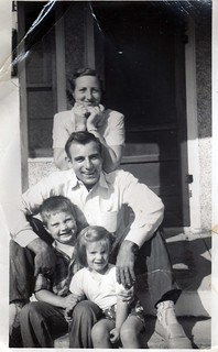 A Happy Family - Vintage Photo