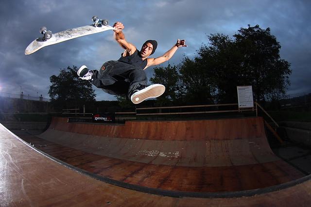 skateboarding, extreme, sport