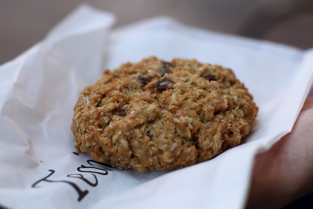 Quick read about salty oatmeal cookie