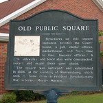 Old Warrensburg Public Square Marker