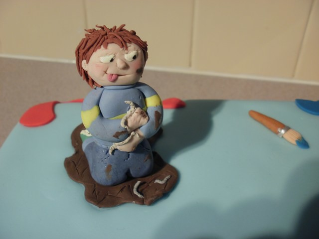 Horrid Henry Cake Topper