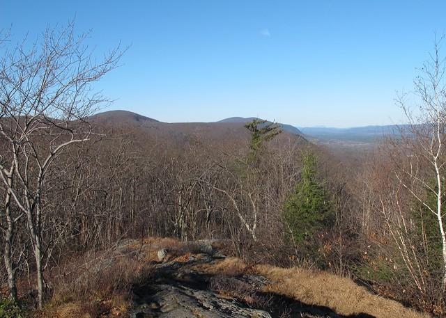 Looking back at Bear Mountain