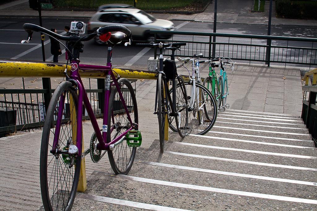 Bicicletas en Santiago de Chile