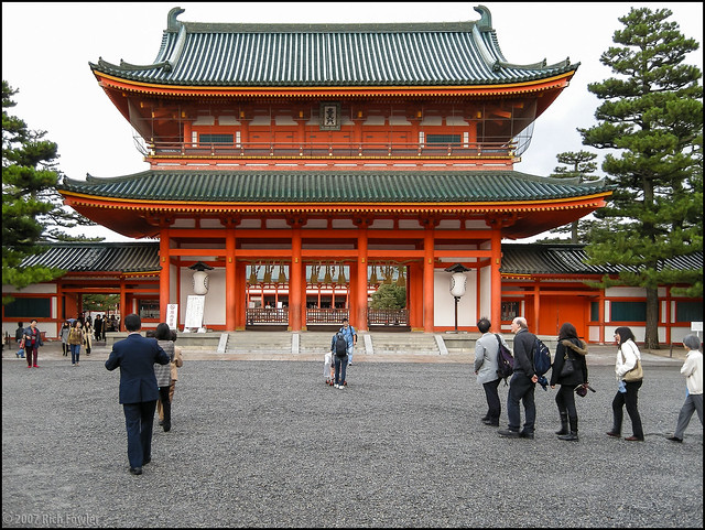 Heian Shrine Main Gate