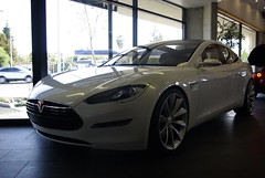 aston martin rapide(0.0), automobile(1.0), tesla(1.0), automotive exterior(1.0), family car(1.0), vehicle(1.0), performance car(1.0), automotive design(1.0), sedan(1.0), personal luxury car(1.0), land vehicle(1.0), luxury vehicle(1.0), sports car(1.0),