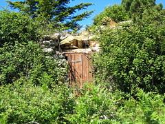 L'abri de Barba Porca : de plus en plus mal en point en juin 2009
