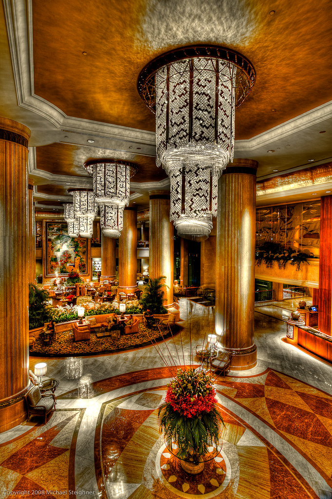 In the Lobby of the Shangra-la by MDSimages.com