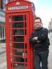 Londen 11 juli 2009 - De telefooncel