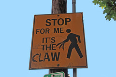 Stop! In the name of the Claw!