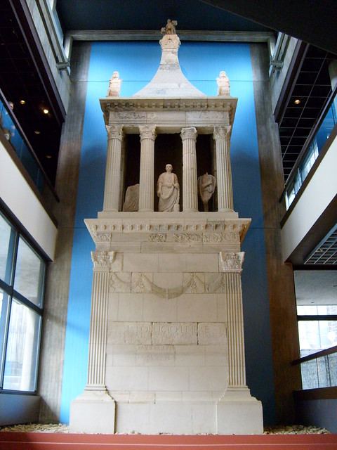 funeral monument of lucius poblicius flickr photo sharing