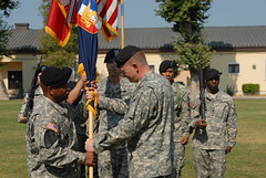 Assumption of Responsibility Ceremony – CSM Bronson – United States Army Africa - 090807