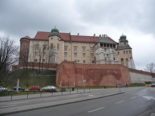 Image of Wawel Castle near Kraków. poland krakow cracow scubabeer