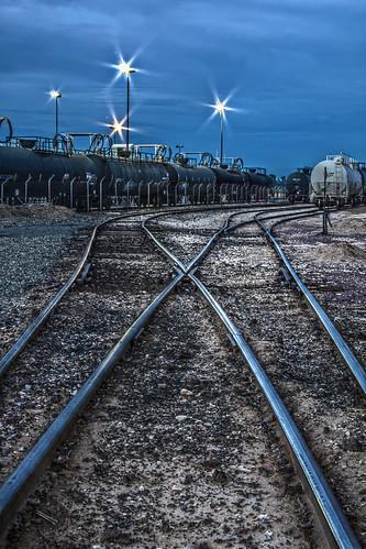 railroad arizona yard train canon tracks rail az hdr 50d qtpfsgui