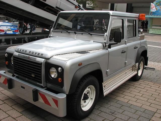Land Rover >> Land Rover tow truck at Frankfurt 2009 | Flickr - Photo Sharing!