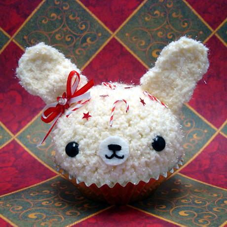 Amigurumi Cupcake Bunny : Amigurumi Christmas Candy Cane Bunny Cupcake Flickr ...