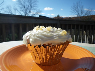 Carrot Cupcakes with Creamcheese Frosting